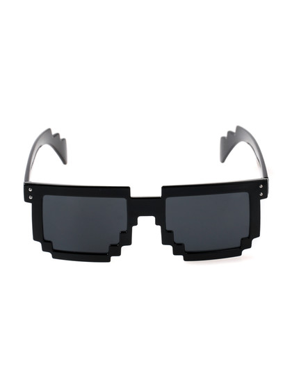矢量马赛克眼镜