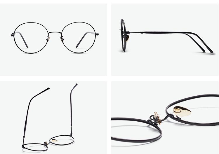 inmix 太阳镜/眼镜|inmix 金属黑圆形镜圈眼镜框正品