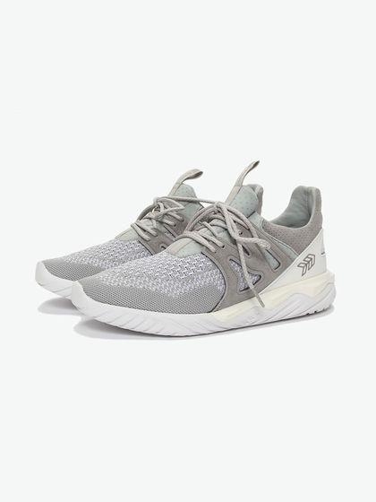 HAMS|男款|運動鞋|HAMS 灰燼 系帶拼接運動鞋