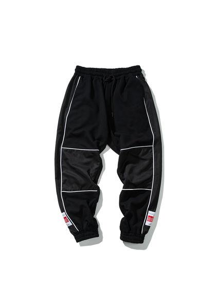 CHINISM|CHINISM|男款|休閑褲|CHINISM 拼接抽繩束腳褲