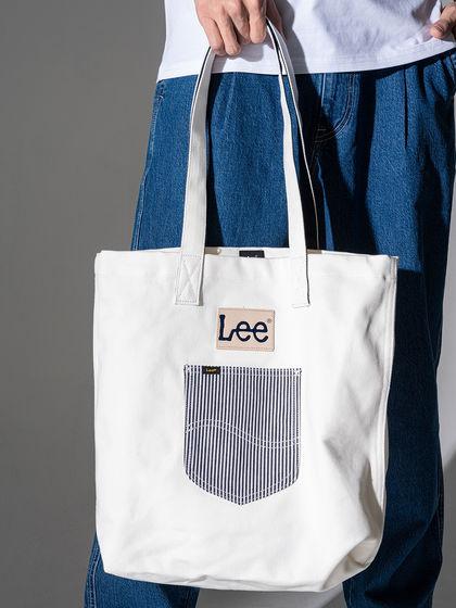 Lee|男款|手拎包/單肩包|Lee 男士LOGO手拎包