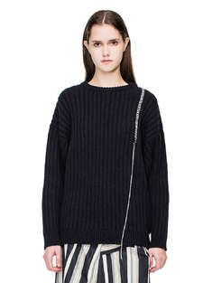A COLD WALL|女|A-COLD-WALL*  KNITTED SHIRT BLACK THREADED WOOL KNIT