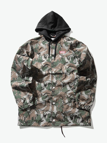 VANS|VANS|男款|夹克|VANS AP DES CAMO FACTOID JACKET【M'S & W'S SEASONAL APPAREL】