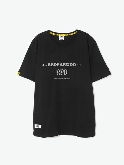 REOPARUDO|REOPARUDO|男款|T恤|REOPARUDO 331 EDITION REFLECTIVE PRINT TEE (BLACK)