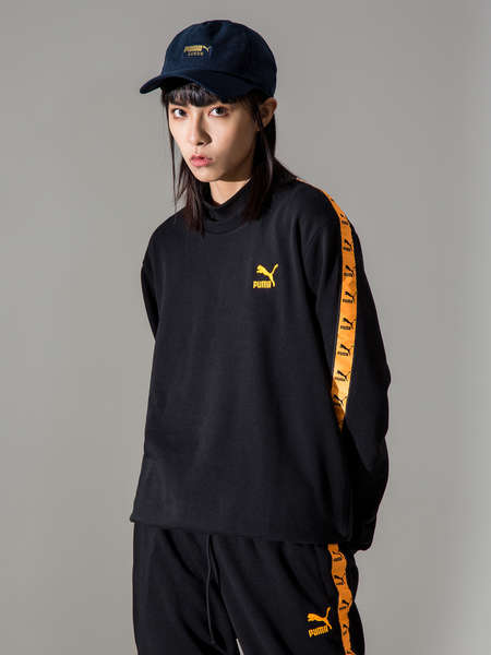 PUMA|PUMA|女|卫衣|PUMA EComm Tape Crew Sweat 圆领套头卫衣