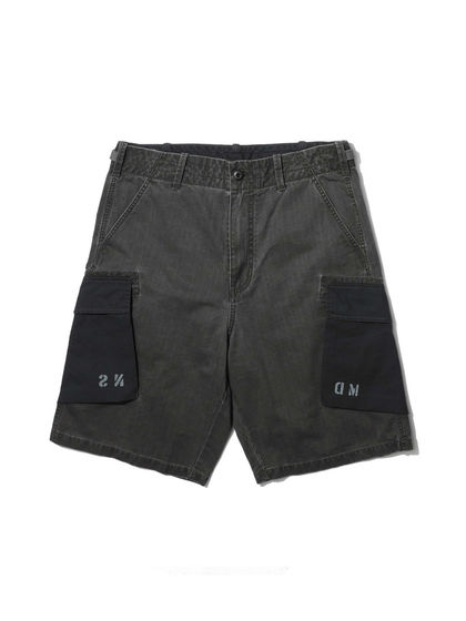 MADNESS|MADNESS|男款|短裤|MADNESS PANELED MILITARY SHORTS