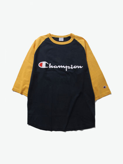 CHAMPION|CHAMPION|男款|T恤|CHAMPION RAGLAN 3/5 SLEEVE T-SHIRT