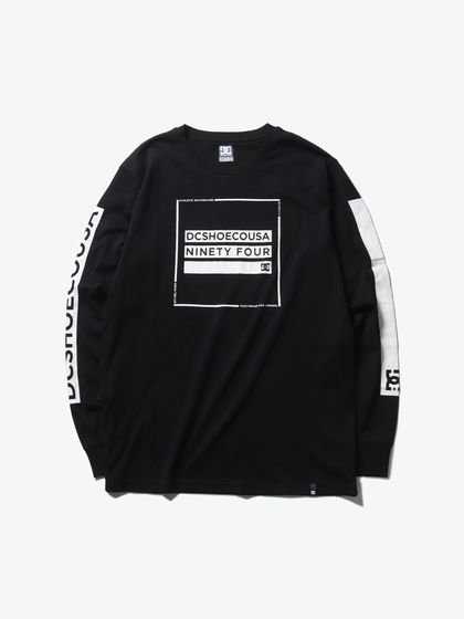 DCSHOECOUSA|男款|T恤|DC DEEDWOOD LS M TEES BTL0 长袖T恤