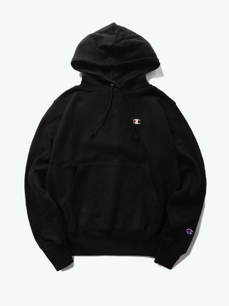 "CHAMPION|CHAMPION|男|卫衣|CHAMPION Reverse Weave® Pullover Hood - Left Chest Small ""C"""