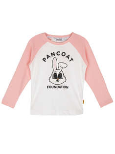 pancoat kids|女|pancoat kids  女童110-140  小兔子印花T恤长袖