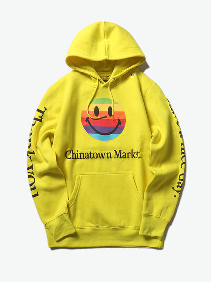 CHINATOWN MARKET|CHINATOWN MARKET|男款|卫衣|CHINATOWN MARKET SMILEY APPLE HOODIE