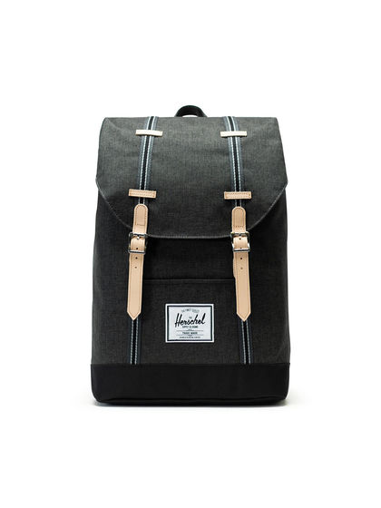 Herschel Supply|男款|双肩包|Herschel Supply Retreat Black Crosshatch/Black双肩包