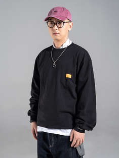 MADNESS|男|长袖T恤|MADNESS LONG SLEEVE POCKET TEE